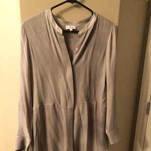 Wilfred Free Aritzia grey dress